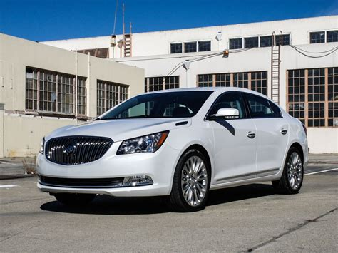 buick lacrosse comfortable connected cruiser