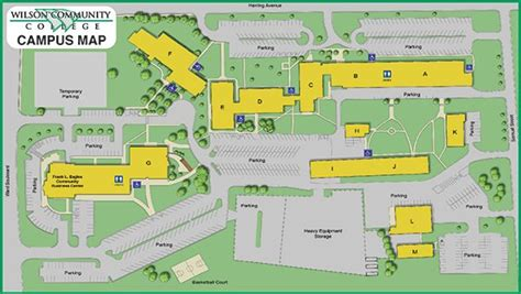 Campus Map | Wilson Community College