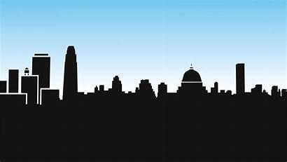 Gotham Wallpapers Skyline Night Vectorified Screen