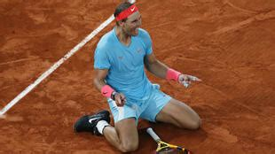 Nadal beats Djokovic to win his 13th French Open, ties ...