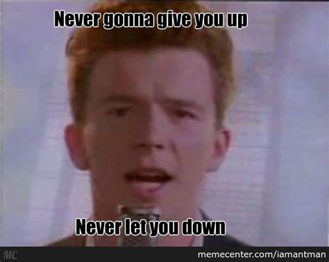 Rick Rolled Meme - bring it back people rick rolled 2014 by iamantman meme center