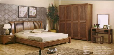 Quality Bedroom Furniture by High Quality Solid Bedroom Set 6a002 China Wooden