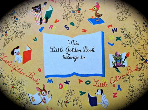 Little Golden Books An Inside Story Diary Of A Private
