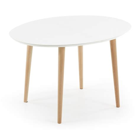table cuisine blanc extendable wooden dining table with white top ian