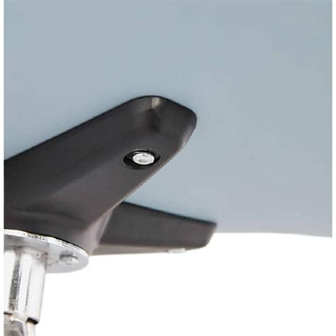 chaise de bureau sur roulettes janice en polypropylene