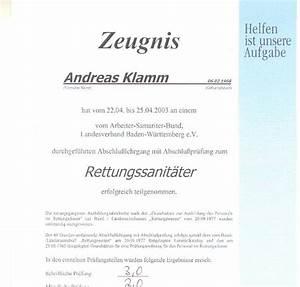 Pvs Rechnung : andreas klamm journalist zeugnis rettungssanitaeter ~ Themetempest.com Abrechnung
