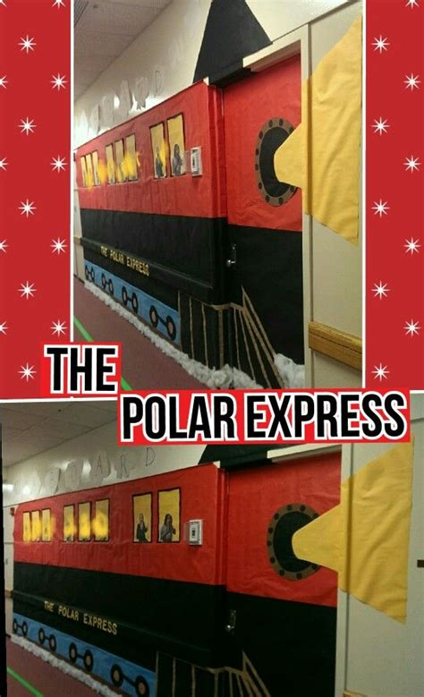 polar express door decorating ideas 17 best ideas about theme classroom on