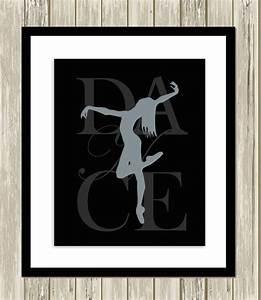 dancer dance wall art teen girl wall art girls room decor With teen wall decor