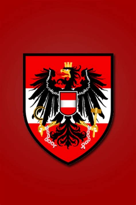 austria football logo iphone wallpaper hd