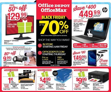 Office Depot Hours Black Friday by Black Friday Sales 2016 Store Hours Start Time For