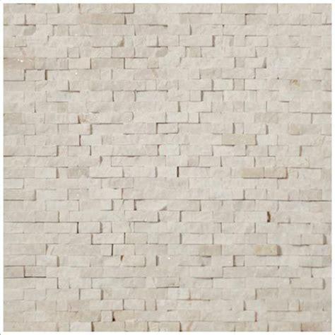 mineral tiles mini split face stone tile crema marfil