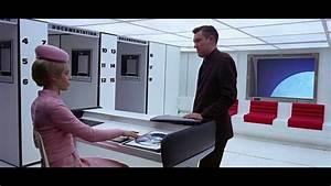 2001 Space Odyssey: Space Station Elevator Scene - YouTube