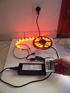 Eclairage Led En Ruban : deco led eclairage bien choisir son bandeau de leds ~ Premium-room.com Idées de Décoration