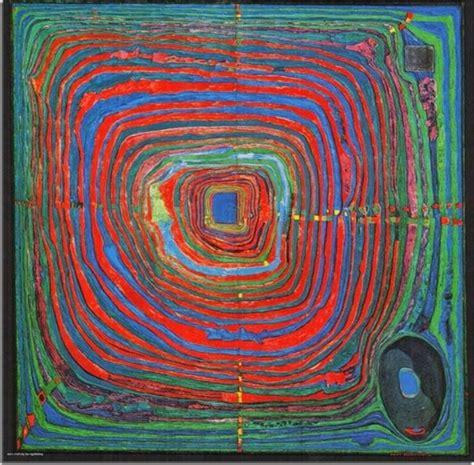Hundertwasser Jenseits Der Rahmen Und Gerade Archzinenet