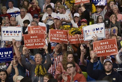 types  republican voters   donald trump era
