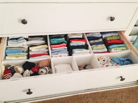25 best ideas about clothes drawer organization on