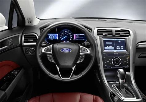 Ford Mondeo Interni by Foto Nuova Ford Mondeo Hybrid My 2013 Interni Cambio