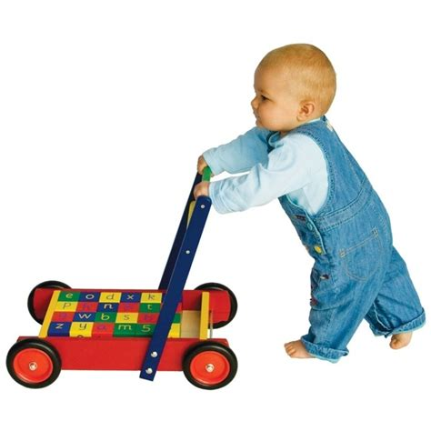 walker baby age put right walkers wooden english learn