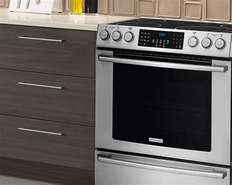 Compare Electrolux Induction, Dual Fuel, Electric & Gas Ranges