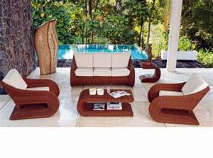 Gartenmöbel Set Modern : 45 outdoor rattan furniture modern garden furniture set ~ Michelbontemps.com Haus und Dekorationen