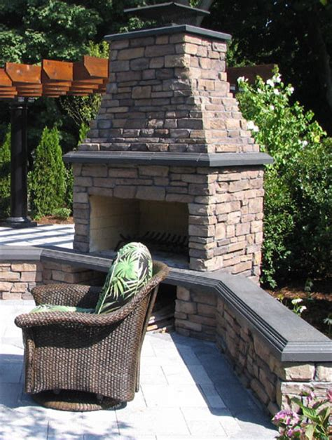 Outdoor Fireplace Kits For The Diyer  Shine Your Light