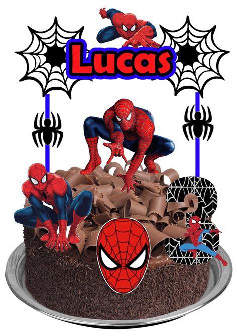 topo de bolo homem aranha no elo7 galeria das lembrancinhas d6007e
