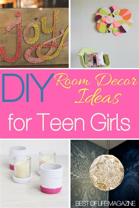 Diy Room Decor Ideas For Teens Girls Will Love  Best Of