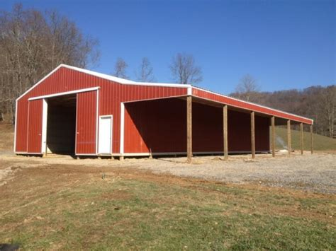 gallery pole horse barn projects  spencer wv