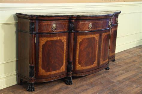 luxurious regency style mahogany sideboard  sale