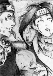 Haku and Zabuza Drawings