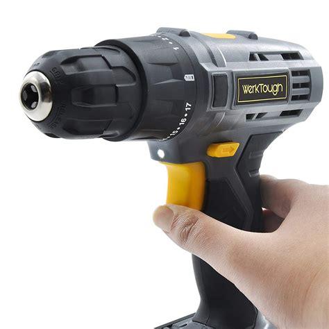 cordless li ion drill driver screwdriver toolots