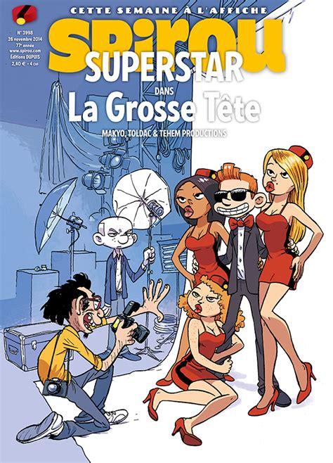 petit hommage aux dessins en couverture de franquin le de li an