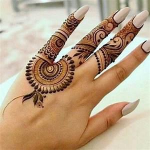 22 Superlative Mehndi Tattoo Designs for Ladies - SheIdeas