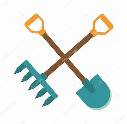 Tools Shovel Icon Gardening Illustration Graphic Symbol