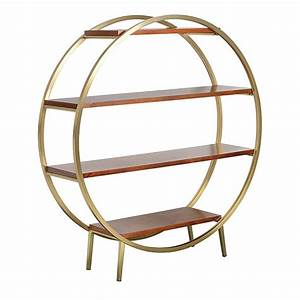 1950s, Luxe, Round, Shelving, Unit, By, I, Love, Retro