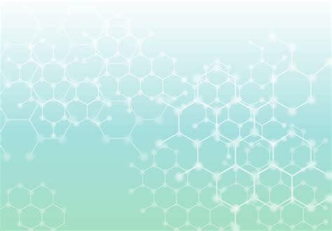 glowing nanotechnology abstract background