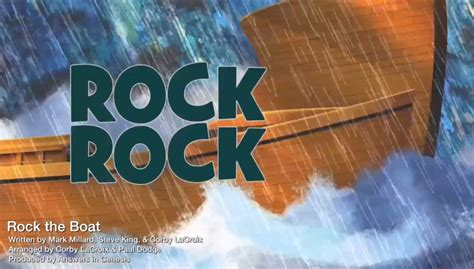 Rock The Boat Vbs Ocean Commotion by Ocean Commotion Songs Kids Answers