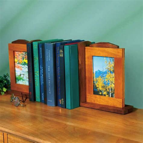 picture perfect bookends woodworking plan