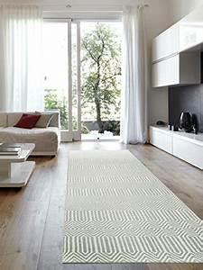 Flur Teppich Grau : benuta teppiche moderner designer teppich l ufer sloan grau 80x300 cm schadstofffrei 55 ~ Indierocktalk.com Haus und Dekorationen