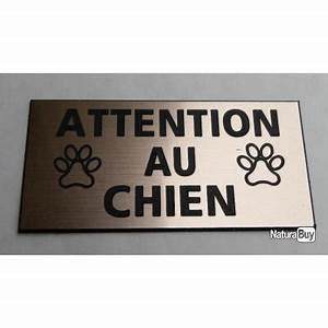 Panneau Attention Au Chien : panneau attention au chien format 98 x 200 mm fond ~ Farleysfitness.com Idées de Décoration