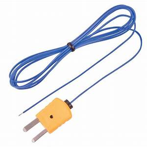Reed Instruments Type K Beaded Thermocouple Wire Probe