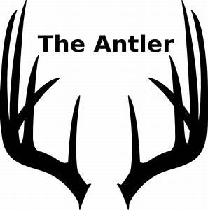 Antler 6 Clip Art at Clker.com - vector clip art online ...