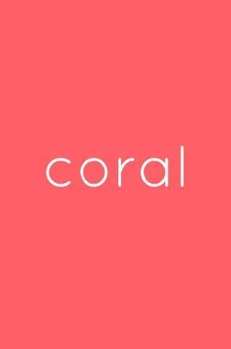 coral color color coral buscar con colores que me quedan