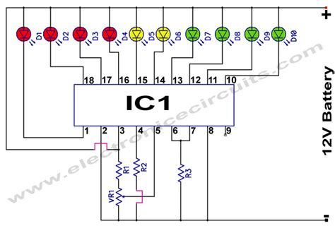 Battery Monitor Circuit Electronic Circuits