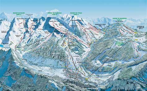 chambre hote haute savoie plan des pistes de la clusaz guide des stations ski flv fr
