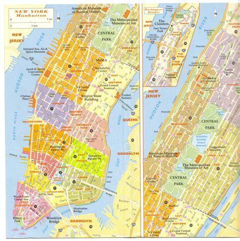 Info • Carte Quartier De New York • Voyages Cartes