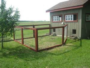 Chicken Co-op Fence