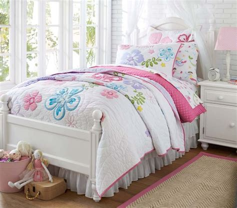 Hibiscus Quilt  Pottery Barn Kids