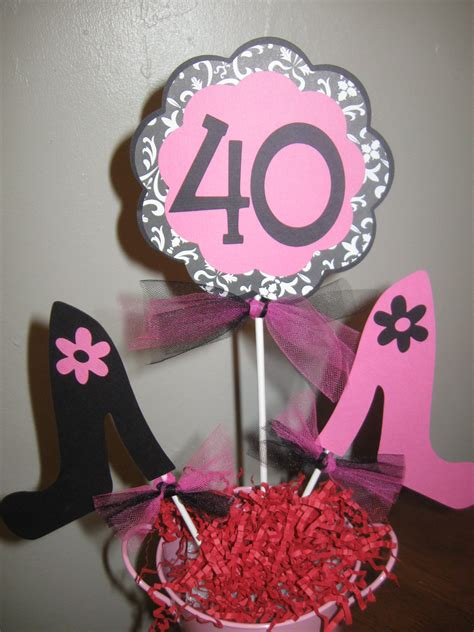 40th Birthday Decorations by 40th Birthday Decorations Centerpiece High By Welcometomystore