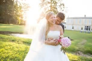 haut habillã pour mariage mariage chic et fleuri au château smith haut lafitte